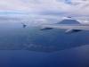 Pico wunderbar zu sehen vom Flugzeug aus