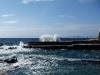 Geschützte Meerwasserbecken