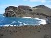 Bröckelnde Bucht bei Capelinhos