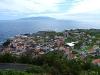 Blick über Vila Nova do Corvo bis hinüber nach Flores - © Minniemaus