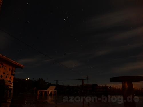 Sternenhimmel über Graciosa