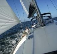 """Unter Vollzeug auf der """"Sabrina"""" segeln"""