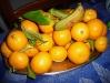 Die Orangen sind im Winter reif.