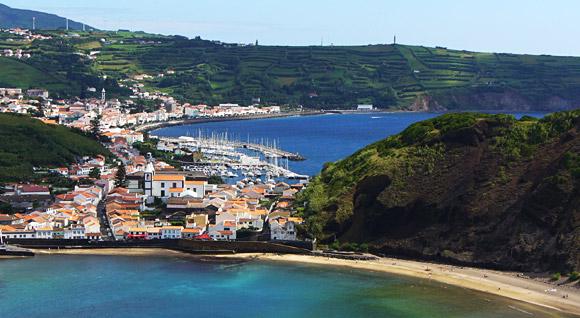 Die Bucht von Horta