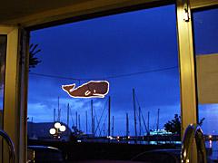 Peter Café Sport auf Faial im Zeichen des Wals