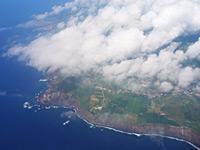Flug über São Miguel