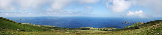 Panoramablick auf der Azoreninsel Graciosa - von Birgit T.