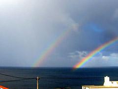 Regenbogen auf Graciosa