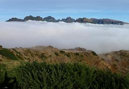 Madeiras höchstes Gebirge