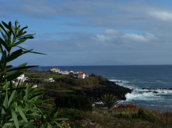 Blick auf Terceira