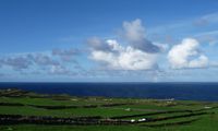Grün-blaues Terceira