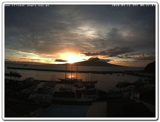 Sonnenaufgang Horta