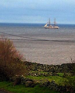 Segelschiff vor Graciosa