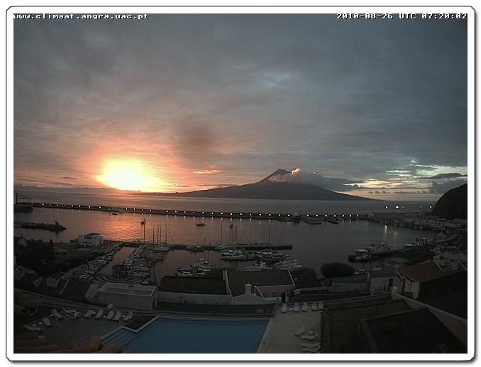 Sonnenaufgang mit Pico