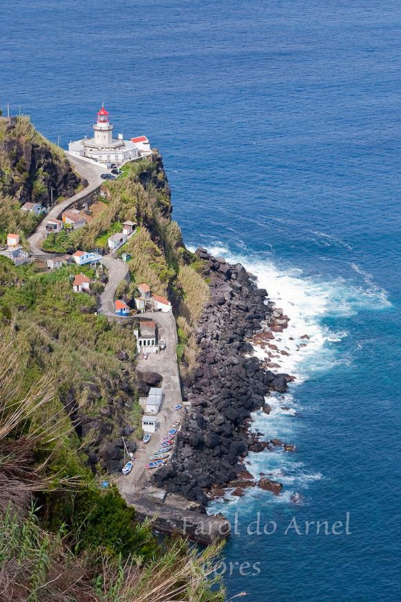 Farol da Ponta do Arnel (São Miguel)