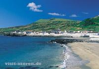 Graciosa - Caldeira und Strand