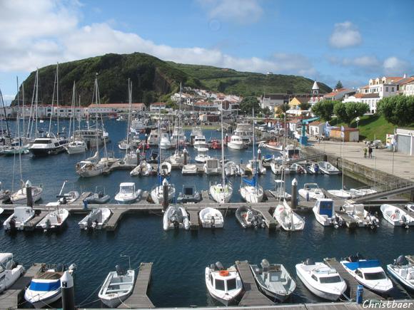 Jachthafen von Horta, Faial