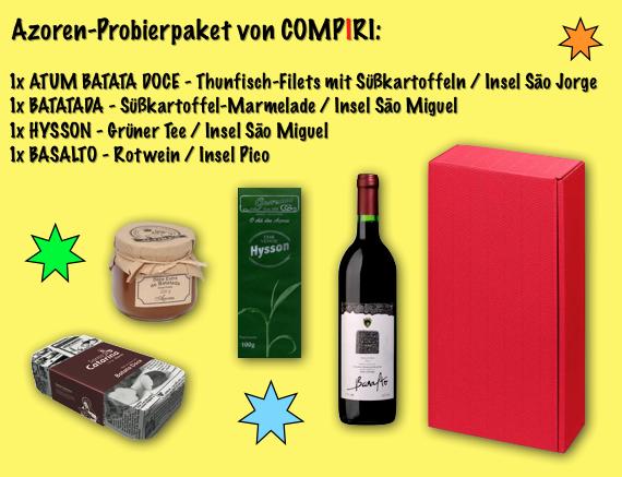 Azoren Probierpaket von Compiri