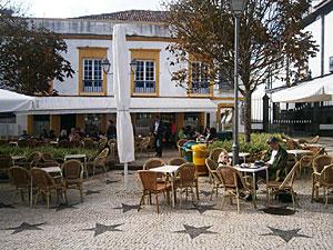 Café Central in Ponta Delgada