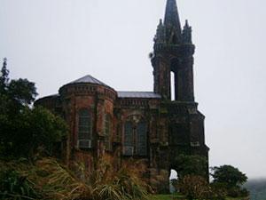 Kirche am Furnas-See