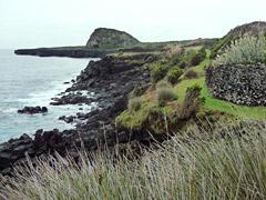 Küstenweg zur Ponta da Ilha