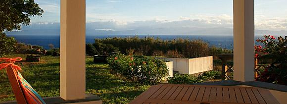 Meerblick von der Terrasse der Quinta Perpétua