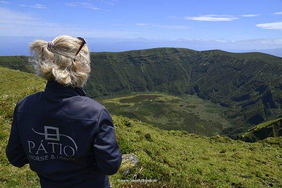 Wandern in der Caldeira, Reiterhof Patio, Cedros, Faial, Azoren,