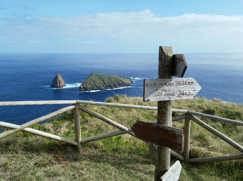 Ponta Restinga auf Graciosa