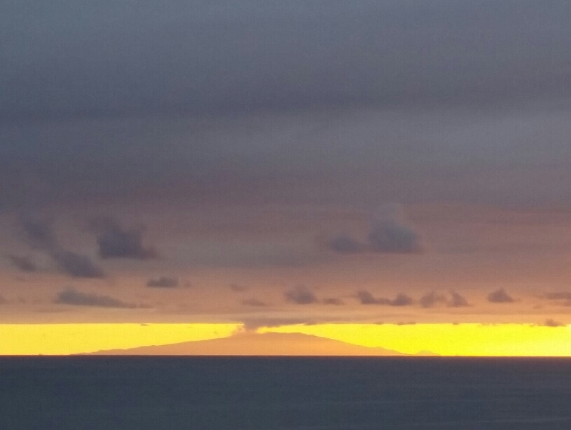 Faial in der Abendsonne