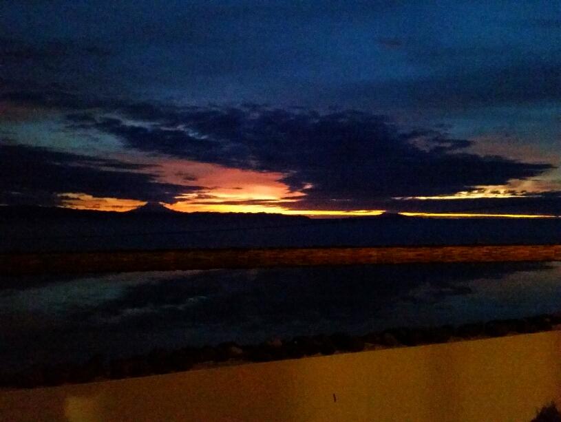 Himmel über São Jorge, Pico und Faial