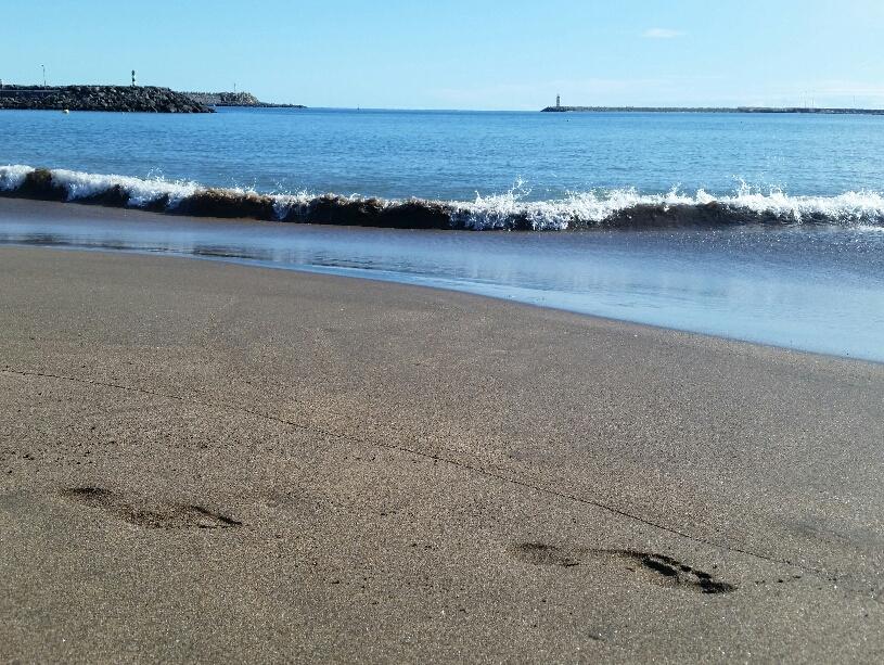 Praia heisst Strand