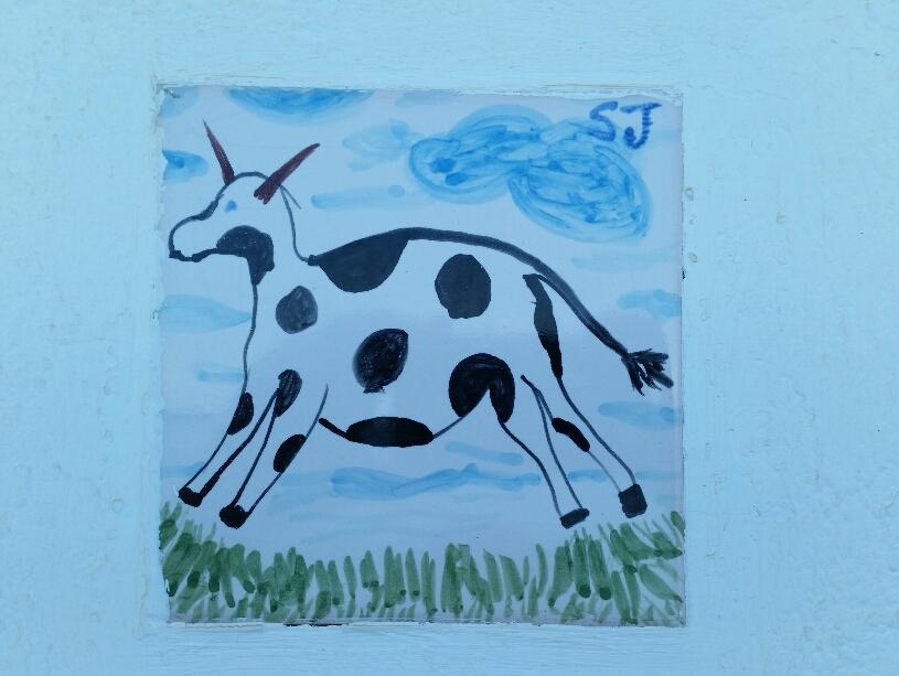 Da fliegt die Kuh ...