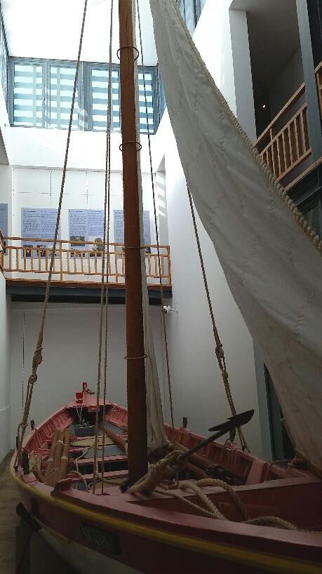 Altes Walfängerboot