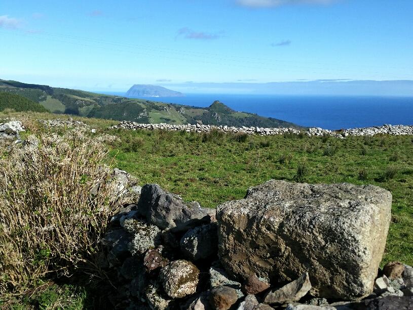 Die kleinste Azoreninsel Corvo
