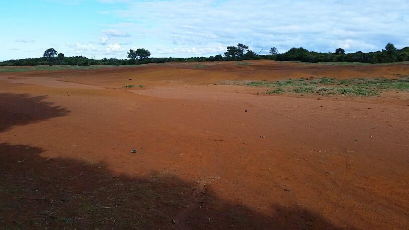 Rote Wüste Santa Marias
