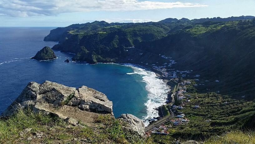 Baia de São Lourenço vom Alagares-Aussichtspunkt
